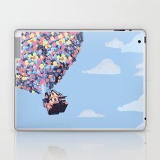 disney pixar up.. balloons and sky with house Laptop & iPad Skin