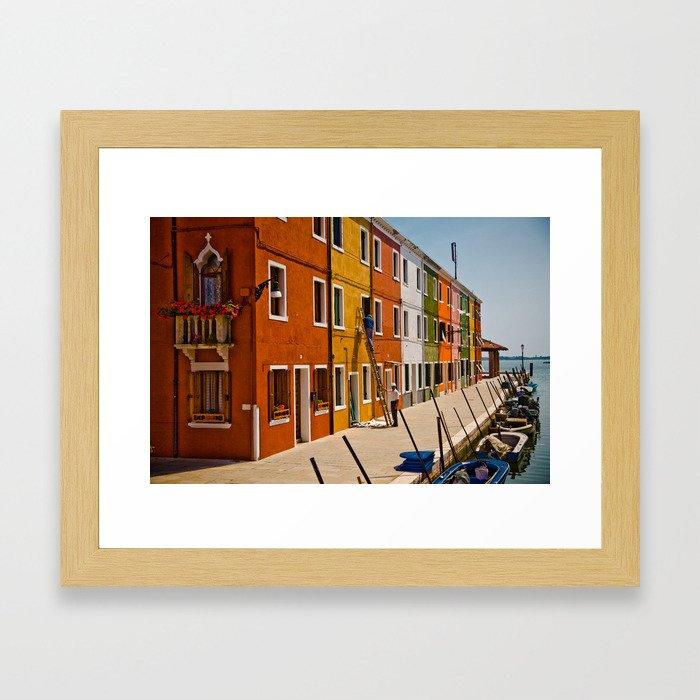 Burano Framed Art Print