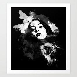 Face For Danger Art Print