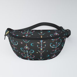 Walks With The Blue Moon Fanny Pack