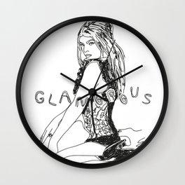 Fergie Glamorous Wall Clock