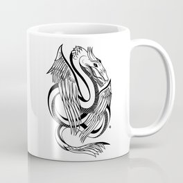 Winged Magic Dragon Coffee Mug