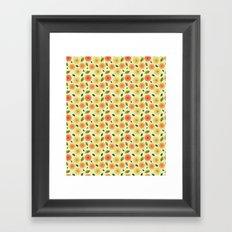 Fresh Floral Framed Art Print