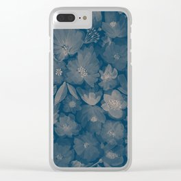Around the World Flowers -Xray P Clear iPhone Case