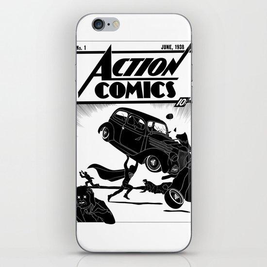 Action Comics #1 Redux iPhone & iPod Skin