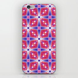 Watercolor Geometry Mod Pink iPhone Skin