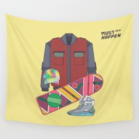 mcfly Wall Tapestries featuring Must Happen 2015 V2 by Sitchko Igor