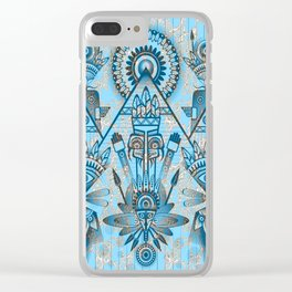 Ancient Spirits Clear iPhone Case