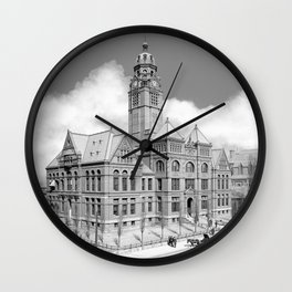 Historic Courthouse - Jefferson County Alabama - Birmingham Wall Clock