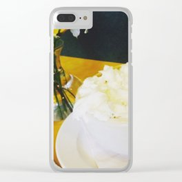 Whipped Delight Clear iPhone Case