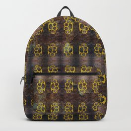 Brass Knuckles Pattern Backpack