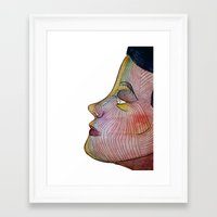 doll Framed Art Prints featuring Doll by beerreeme