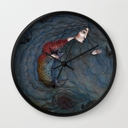 Loreley Wall Clock