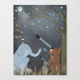 little astrologers Canvas Print