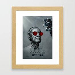 Excelsior - Stan Framed Art Print