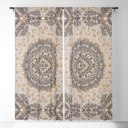 Bohemian Oriental Moroccan Mandala Style  Blackout Curtain