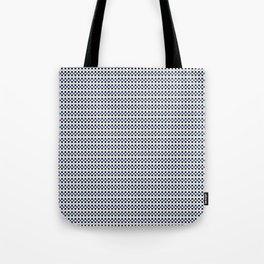 Stripe Vichy_Ocean Tote Bag