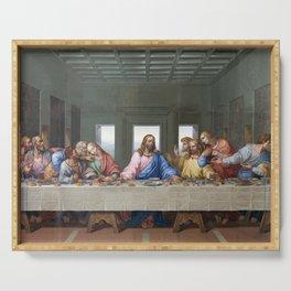 The Last Supper by Leonardo da Vinci Serving Tray