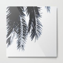 Palm Tree leaves abstract Metal Print