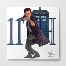 11th Doctor Metal Print