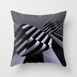 Steiner's Surface in OpArt-design Throw Pillow