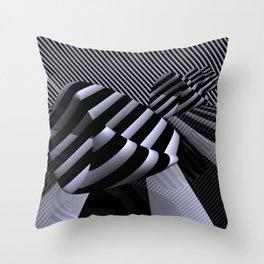 Steiner's Surface in OpArt-design Throw Pillow