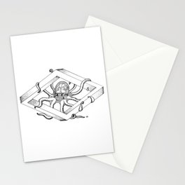 Infinite Octopus Stationery Cards