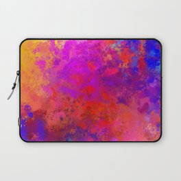 Colorful Splatter Laptop Sleeve