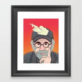 Steven Spielberg Framed Art Print