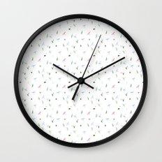 dragonfly subtle pattern Wall Clock