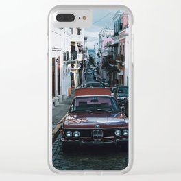 Viejo San Juan Clear iPhone Case