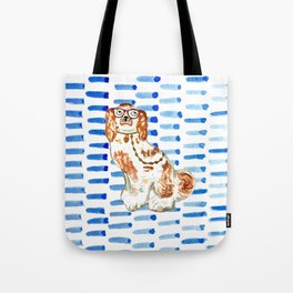 REDHEAD IN GLASSES - right facing Tote Bag