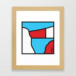 Panama Framed Art Print