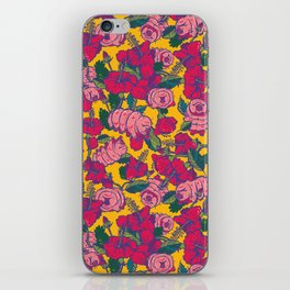 Water bears with Flowers iPhone Skin