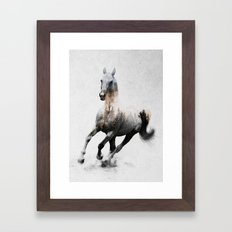 Galloping Horse Framed Art Print