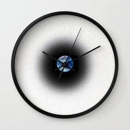Earth Sight Wall Clock