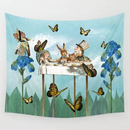 A Day in Wonderland - The Tea Party Wall Tapestry