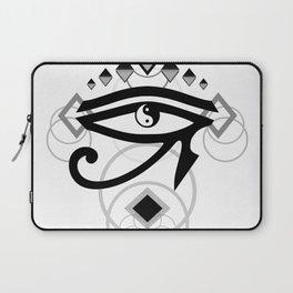 Eye Of Horus (Yin Yang Crest) - 2 Laptop Sleeve