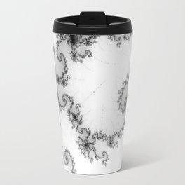 detail on mandelbrot set - starfish Travel Mug