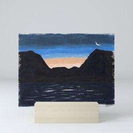 prince rupert sunrise Mini Art Print