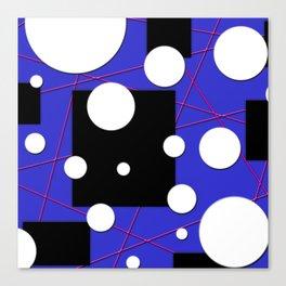 Geo Shape Play Canvas Print