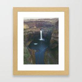 Palouse Falls Washington Framed Art Print