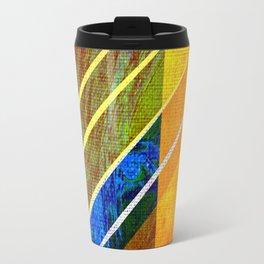 Abstract face Drawing Travel Mug