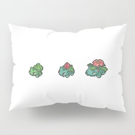 Green Evolutions Bulbasaur/Ivysaur/Venusaur Pillow Sham