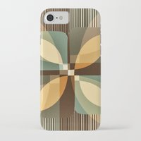 clover iPhone & iPod Cases featuring clover by Julia Tomova