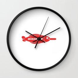 minnopop Wall Clock