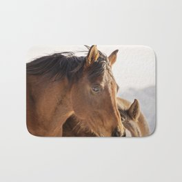Western Horse Bath Mat