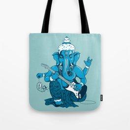 Ganesha rocks ! (v3) Tote Bag
