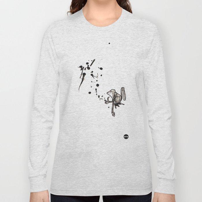 Pensive Primate. Long Sleeve T-shirt