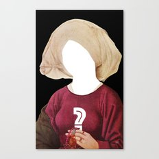 Another Classic Protrait Disaster · The Unknown 1 Canvas Print